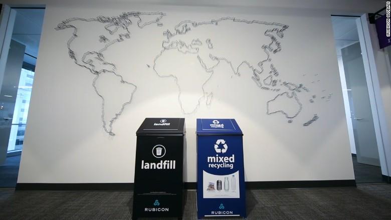 垃圾箱科技