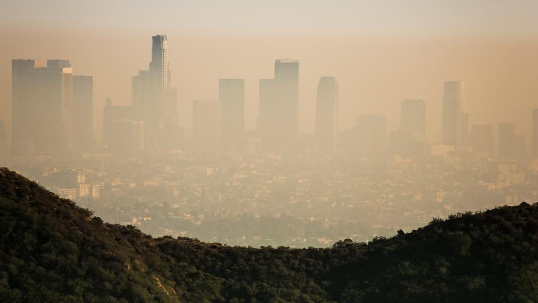 车载传感器可以监测洛杉矶盆地的空气重污染